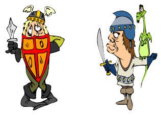 Bohaterowie Bajek I Baśni Rycerze