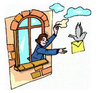 Znalezione obrazy dla zapytania gołąb pocztowy gif